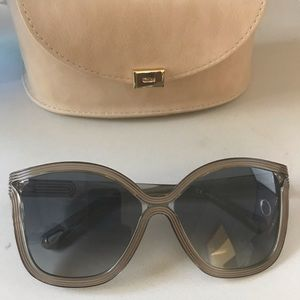 Chloe Sunglasses - Beige CE737S - New with Case